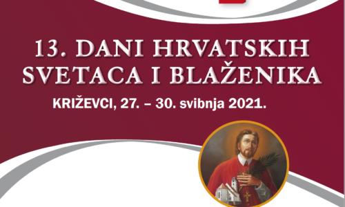 13. Dani hrvatskih svetaca i blaženika