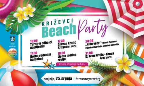 Križevci Beach Party